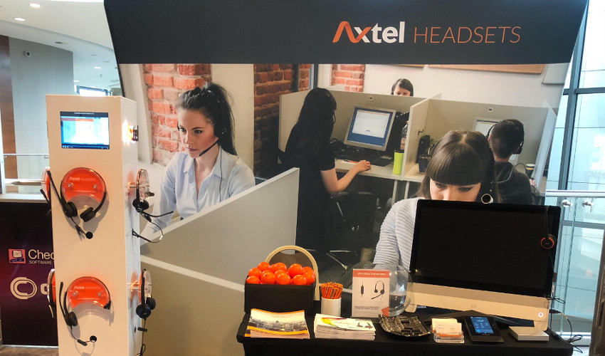 Axtel Headsets po raz drugi na Check Point Experience Poland 2018