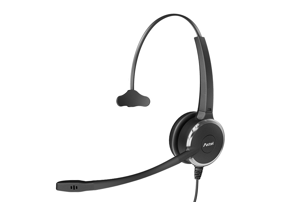 Noise cancelling headset with mic : PRIME HD mono NC - Axtel